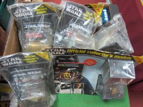 A Star Wars Official Collectors Models, approximately eight issues, including #6, #2, #10, etc,