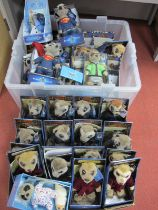 Approximately Thirty four Compare The Market Meerkat Promotional Toys, including limited editions ,