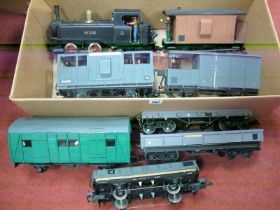 """A L.G.B Gauge One 0-4-0 Tank Steam Locomotive, finished overall back, named """"Joe Clark"""" with R/No ("""