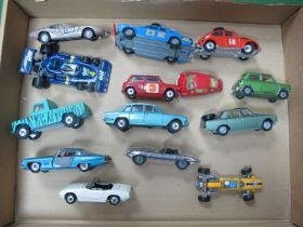 Fourteen Corgi Diecast Vehicles, to include Cooper-Maseratii Formula 1, Triumph 2000, Rover 2000 Tc,