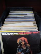 A Quantity of LP's and Singles, including classical, jazz, pop and easy listening, titles spanning