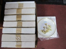 The David Shepherd Wildlife Collection of Plates by Wedgwood, commissioned by Spink, all boxed, with