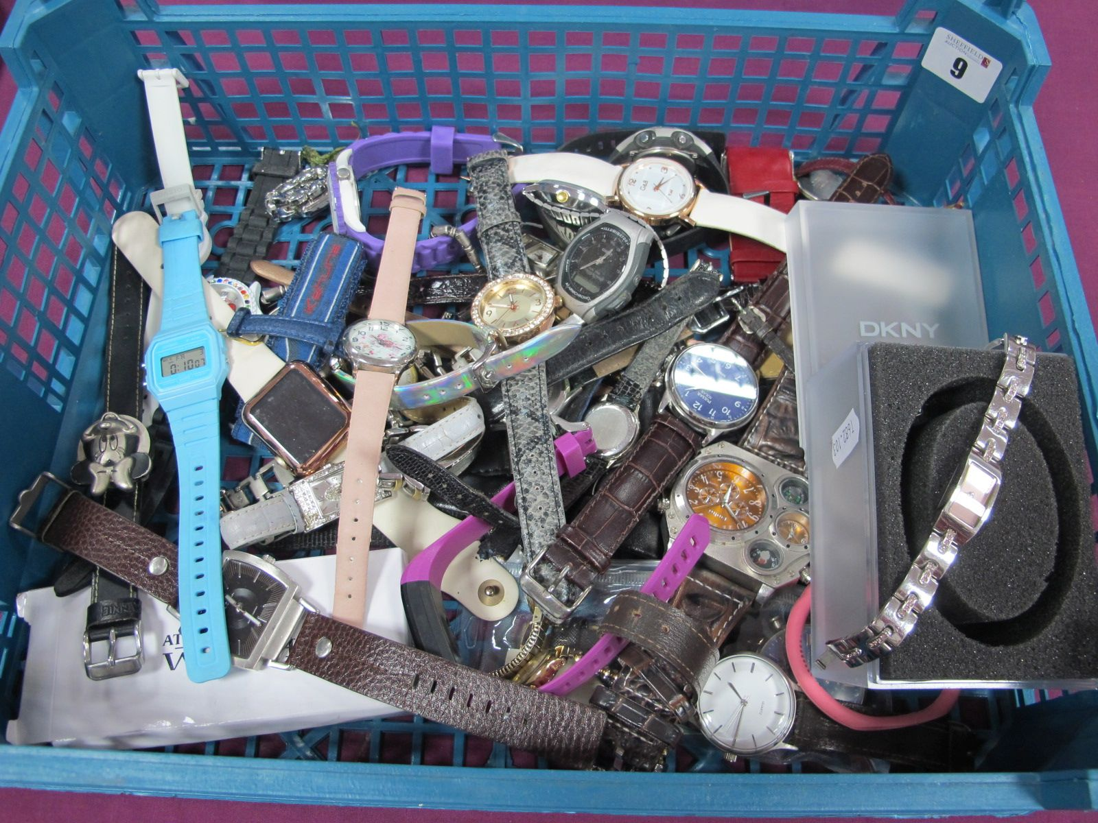 Assorted Wristwatches, including DKNY, etc :- One Box