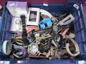 Assorted Ladies and Gent's Wristwatches :- One Box
