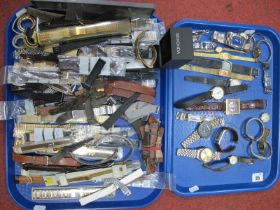 Assorted Ladies and Gent's Wristwatches, together with selection of assorted wristwatch straps and