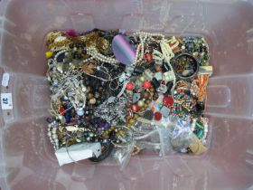 A Mixed Lot of Assorted Costume Jewellery :- One Tray