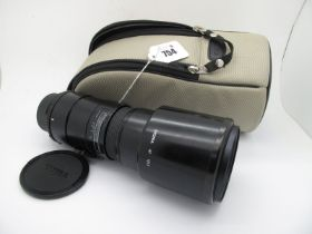 Sigma Tele 400mm 1:56 Multi Coated Lens, in Canon padded case.