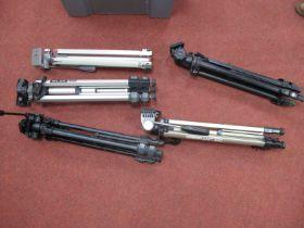 Tri-Pods - Cobra 320, Velbon DV-40, Sony Slick 35D, (5)
