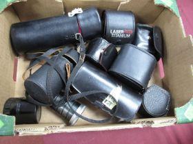 Canon AF Telephoto Converter, Anastigmat 8.5cm lens, Phago auto 3X converter, laser red super wide