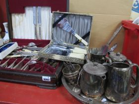 George Butler, Ryals, Argyle and Other Cutlery, hotel plate, salver, etc.