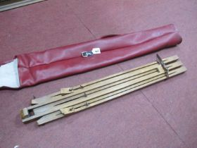 Artists Wooden Fold Down Easel, in carry case.