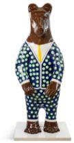 Bear: Polka Dot Suit - Artist: Matthew Price - Sponsor: Special Steel Group