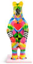 Bear: Sunny - Artist: Morag Myerscough - Sponsor: Sheffield Hallam University
