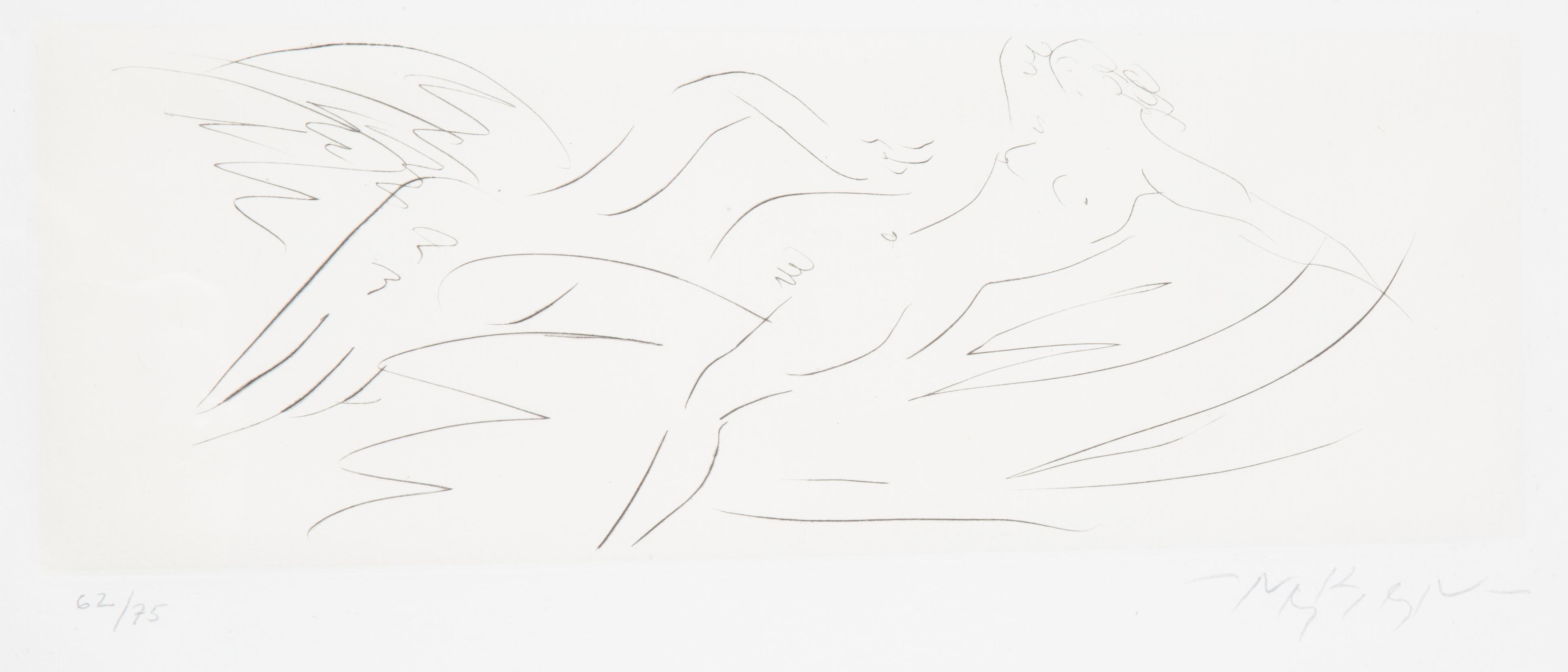 NINE ETCHINGS BY REUBEN NAKIAN (AMERICAN 1897-1986) - Image 4 of 18