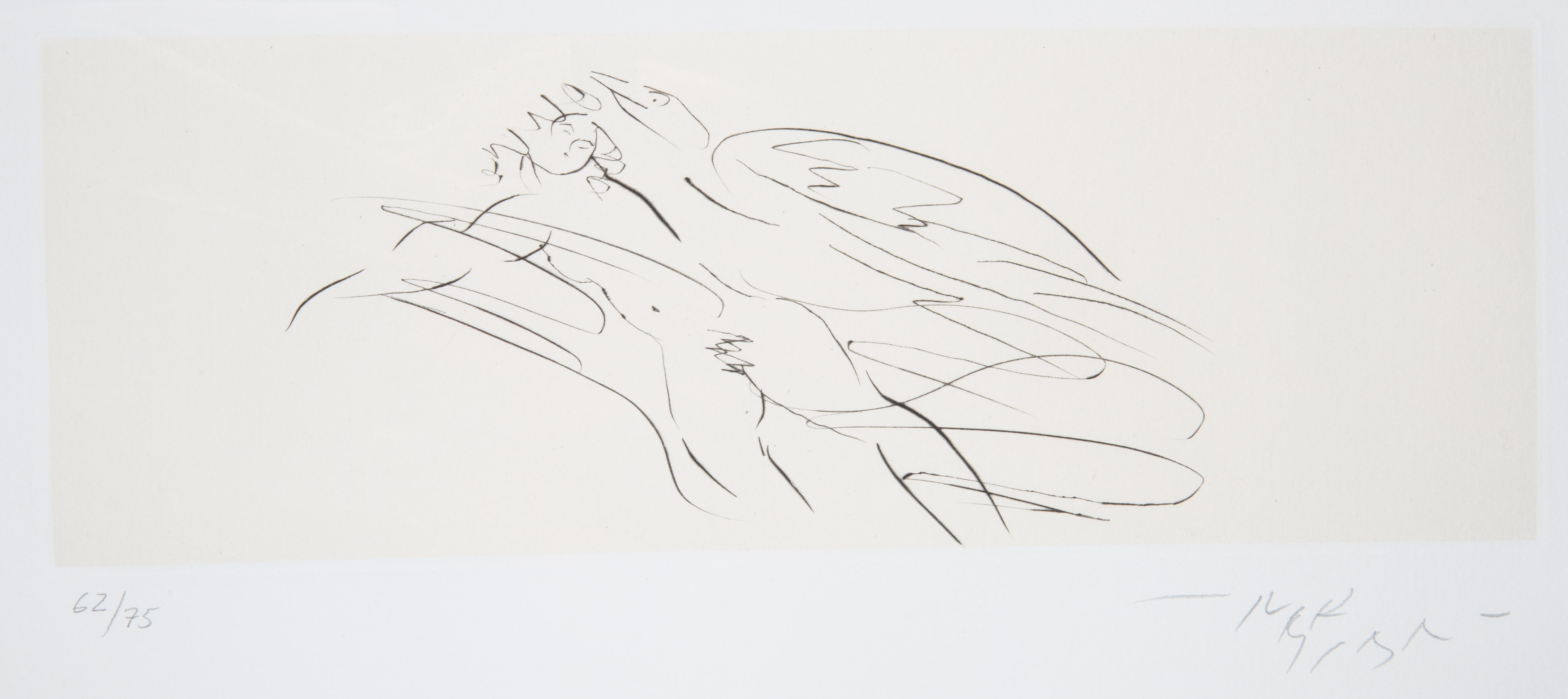 NINE ETCHINGS BY REUBEN NAKIAN (AMERICAN 1897-1986) - Image 10 of 18