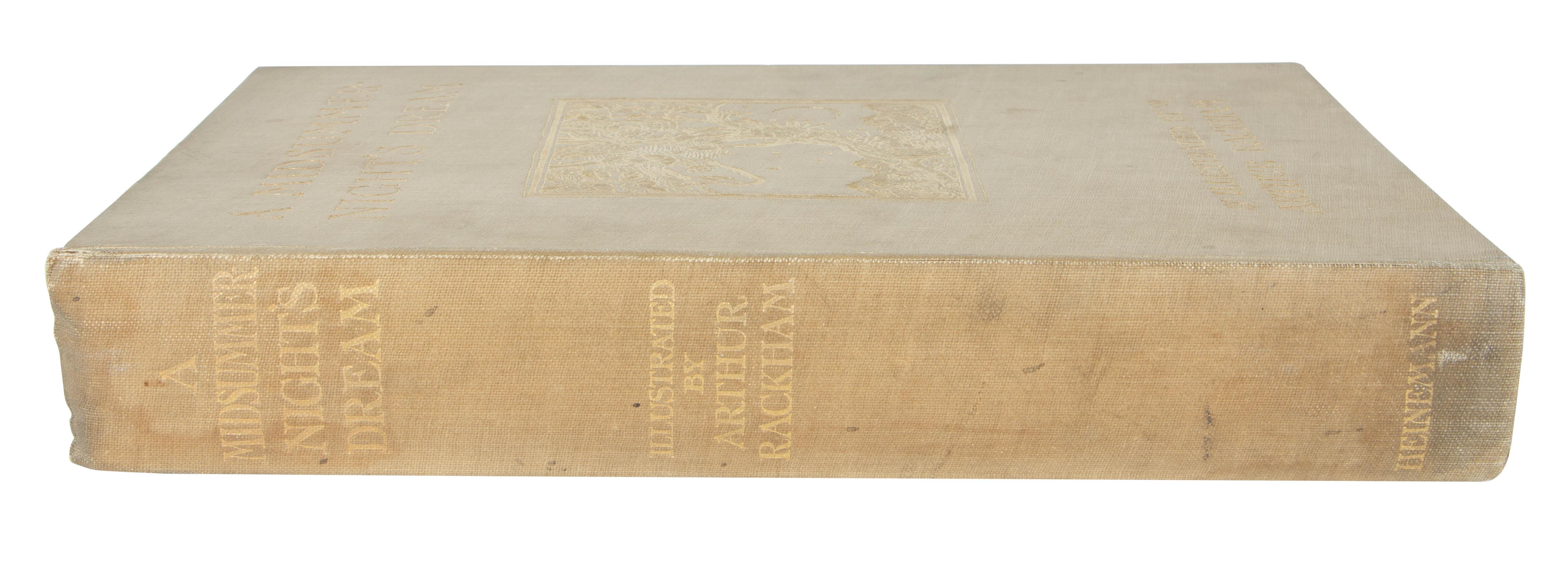 1908 MIDSUMMER NIGHT'S DREAM BY WILLIAM SHAKESPEARE, ILLUSTRATIONS BY ARTHUR RACKHAM - Image 2 of 7