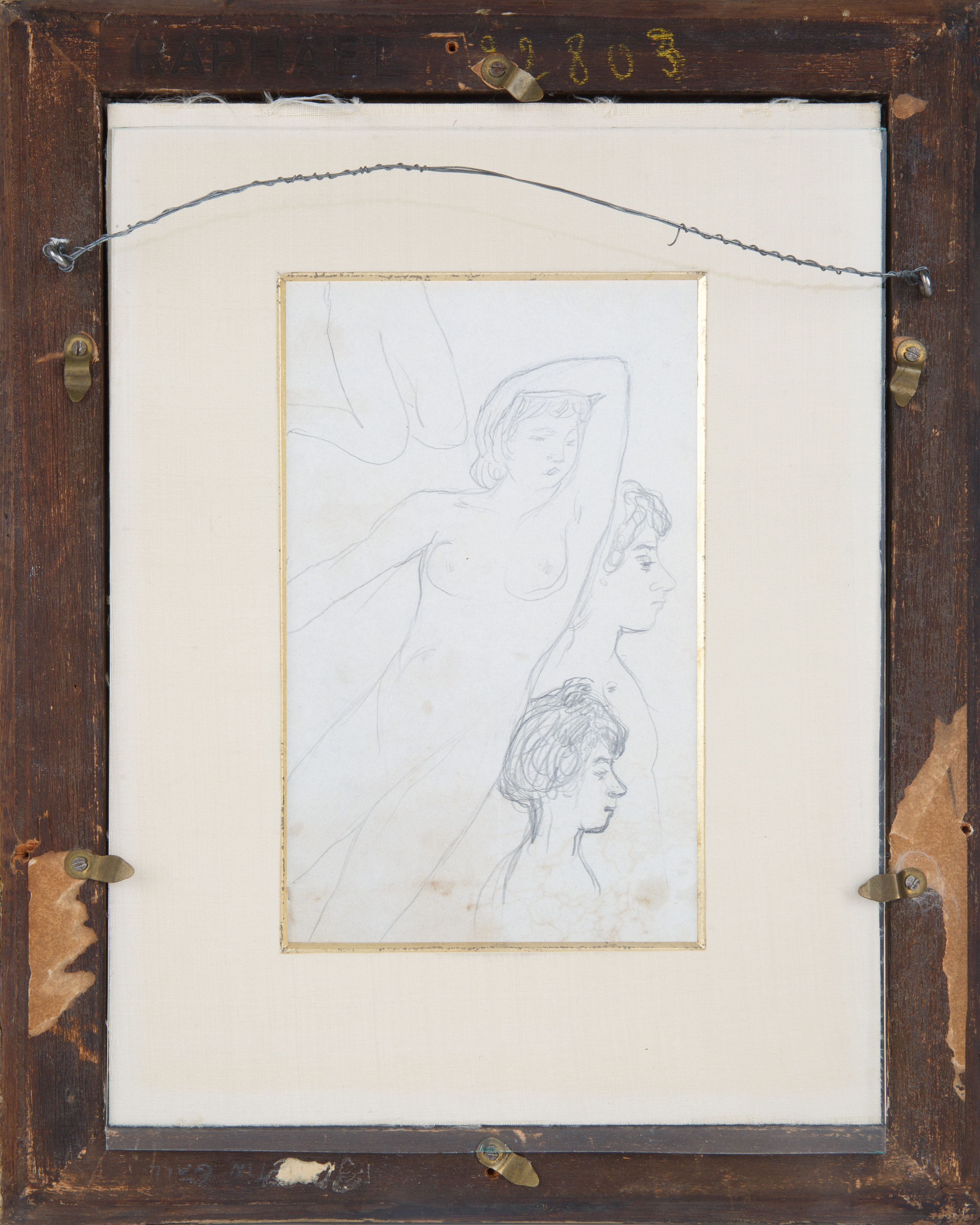 A DOUBLE-SIDED NUDE BY PIERRE BONNARD (FRENCH 1867-1947) - Image 5 of 6