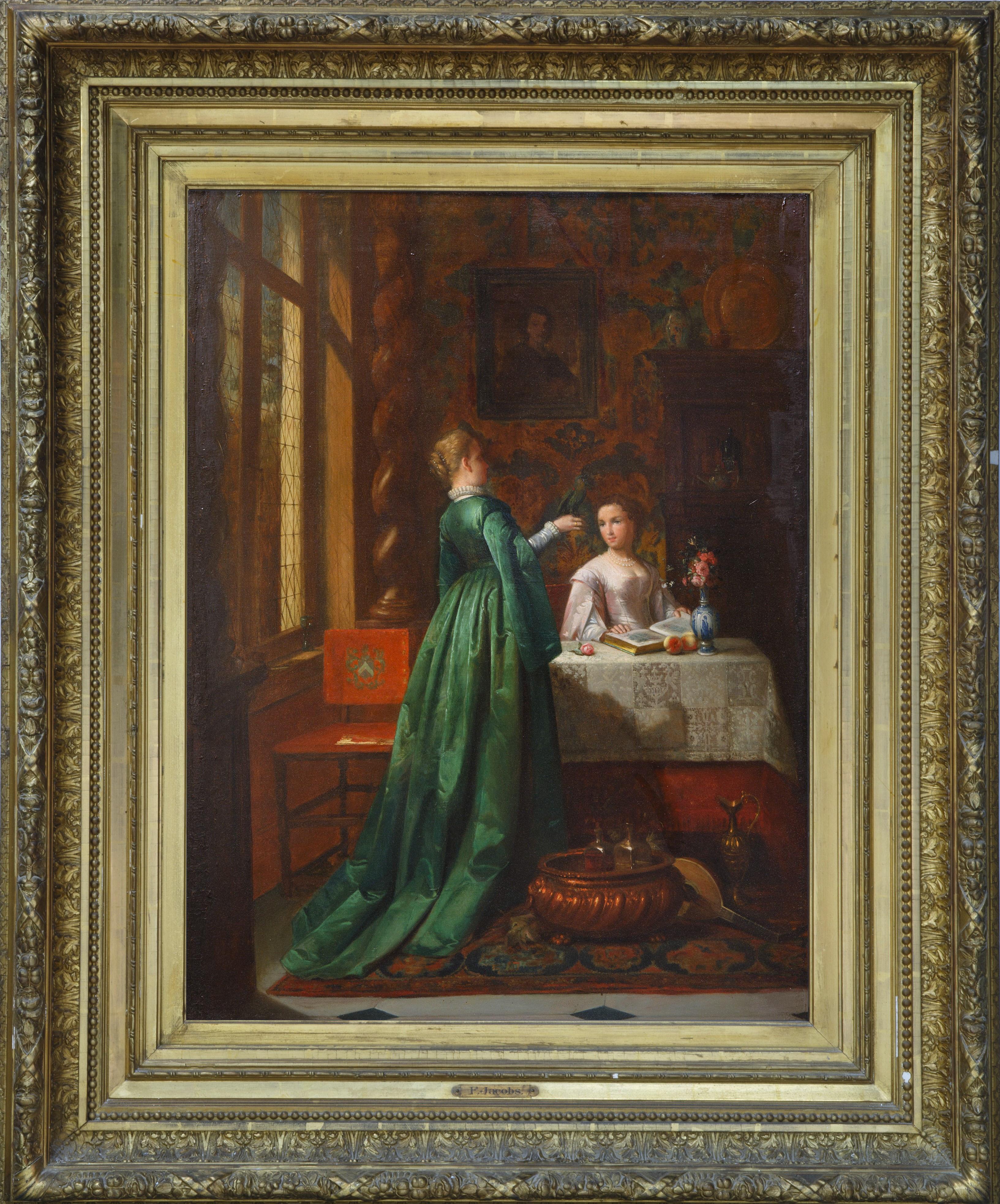 FRANCOIS JACOBS (BELGIAN 1832-1906) - Image 2 of 5
