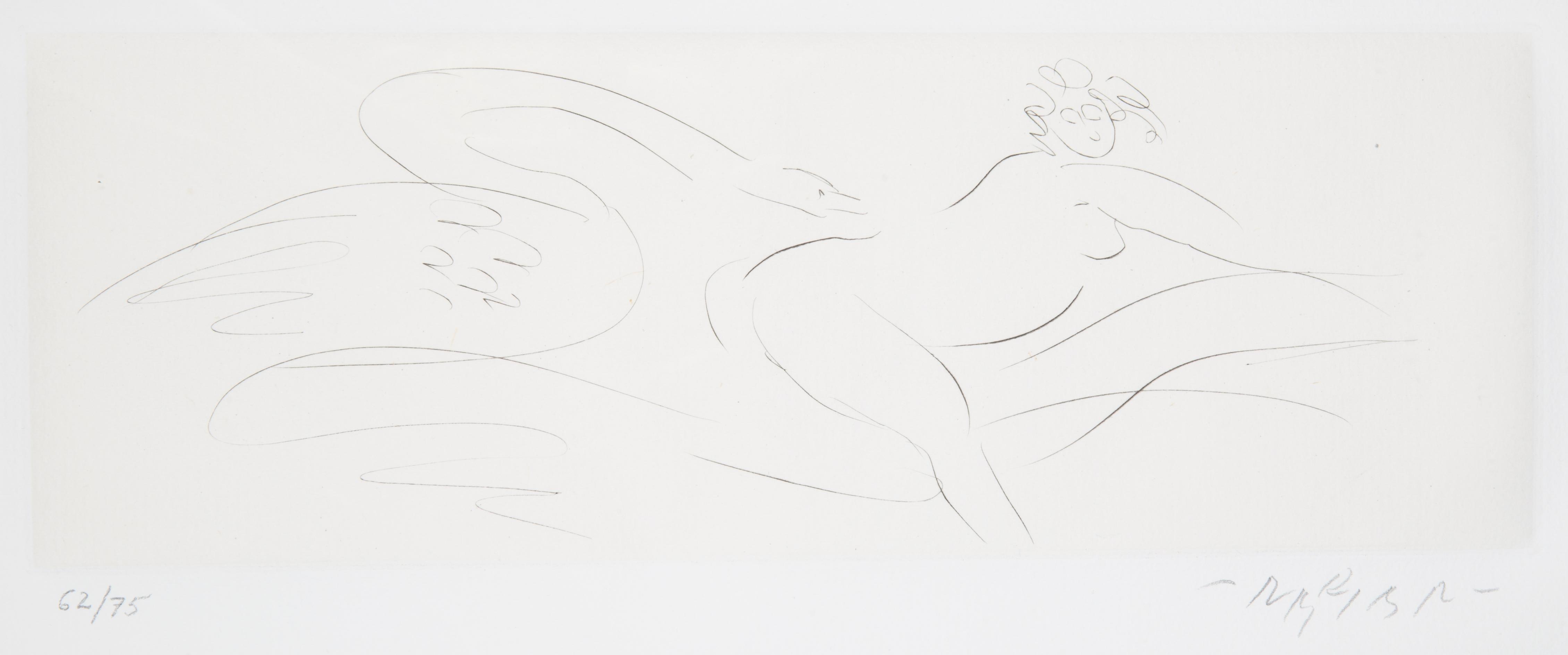 NINE ETCHINGS BY REUBEN NAKIAN (AMERICAN 1897-1986) - Image 16 of 18