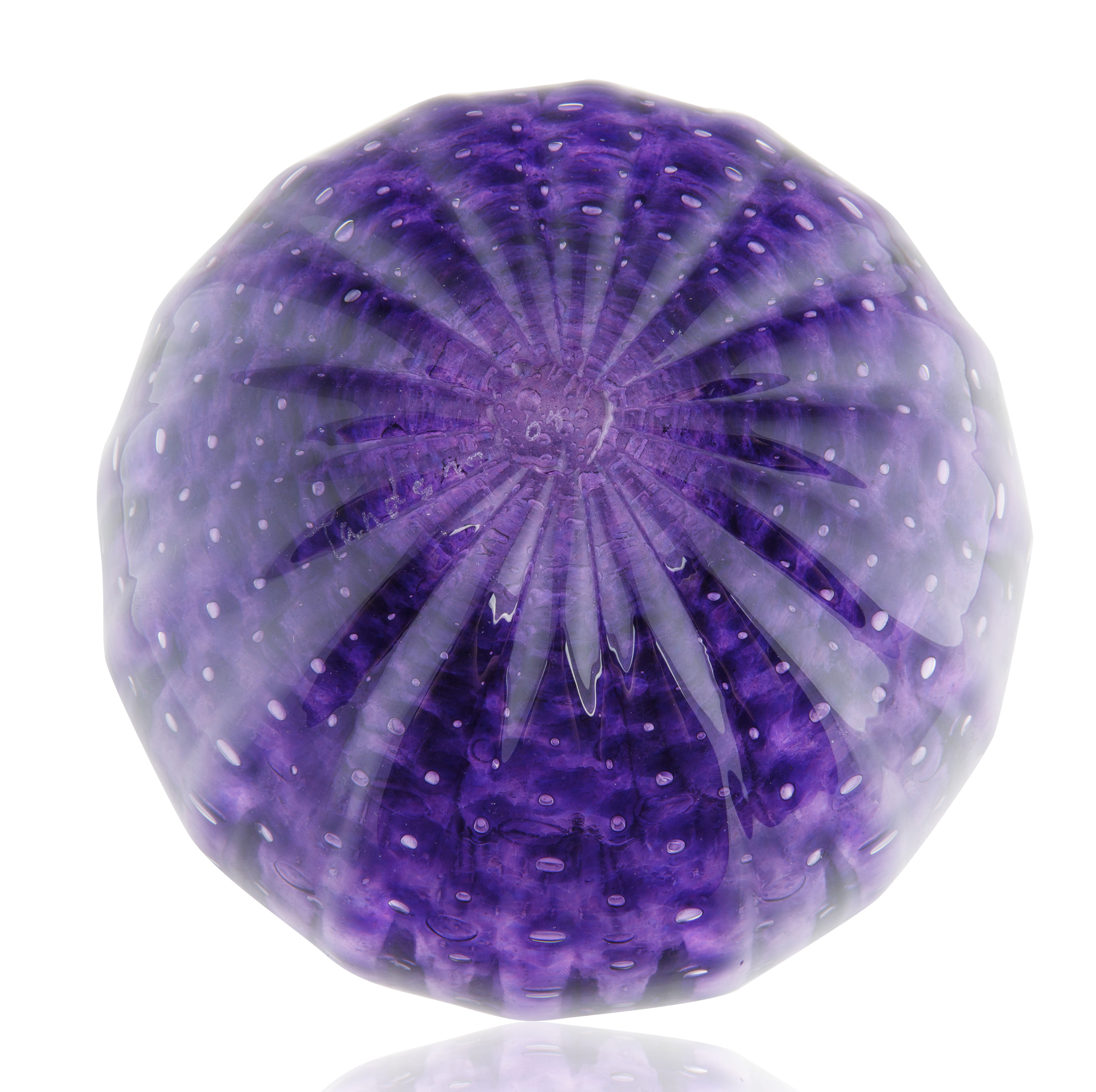 MOST LIKELY MURANO ITALIAN GLASS ROUND VASE - Image 3 of 4