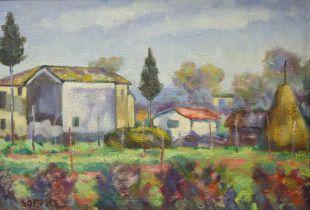 ARDENGO SOFFICI (ITALIAN 1879-1964)