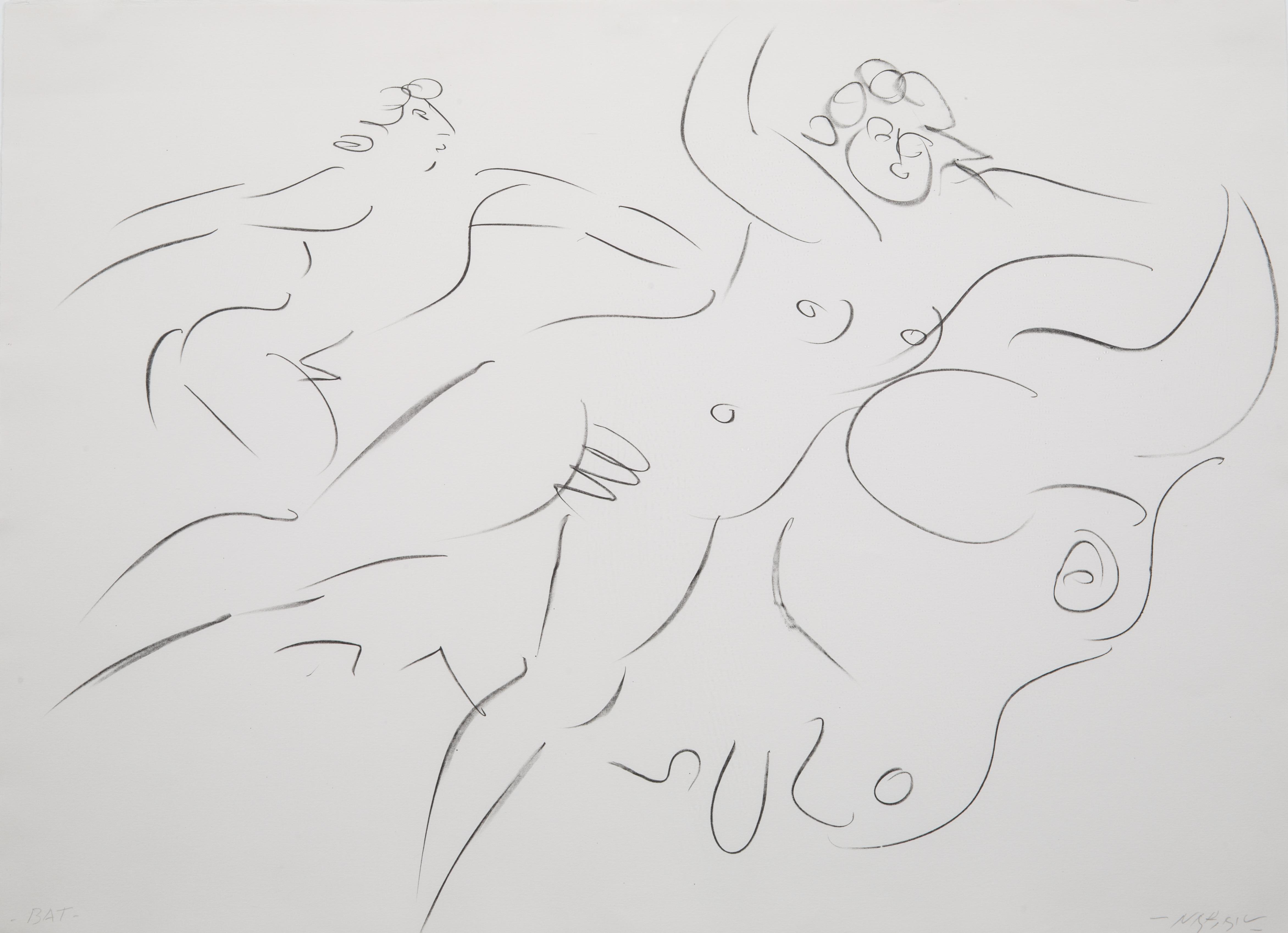 NINE ETCHINGS BY REUBEN NAKIAN (AMERICAN 1897-1986) - Image 17 of 18