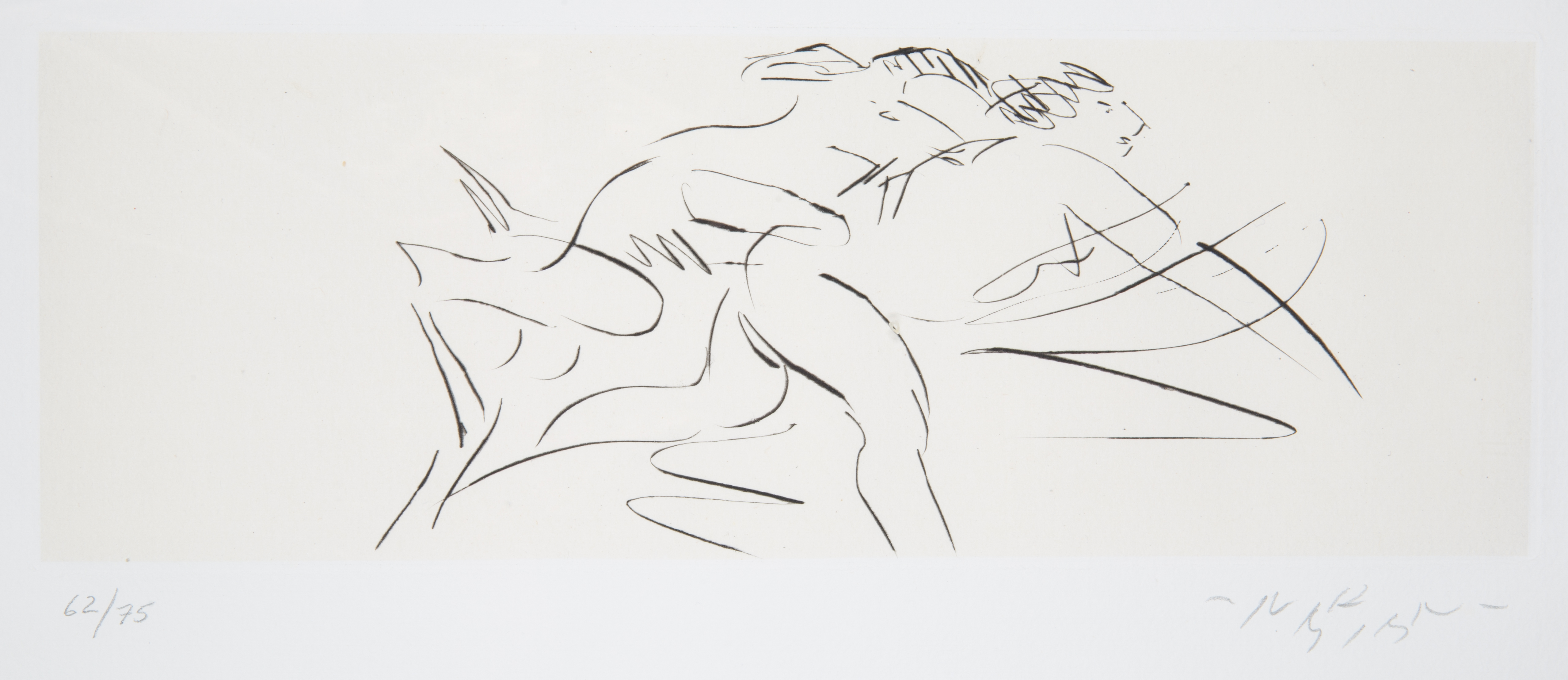 NINE ETCHINGS BY REUBEN NAKIAN (AMERICAN 1897-1986) - Image 14 of 18