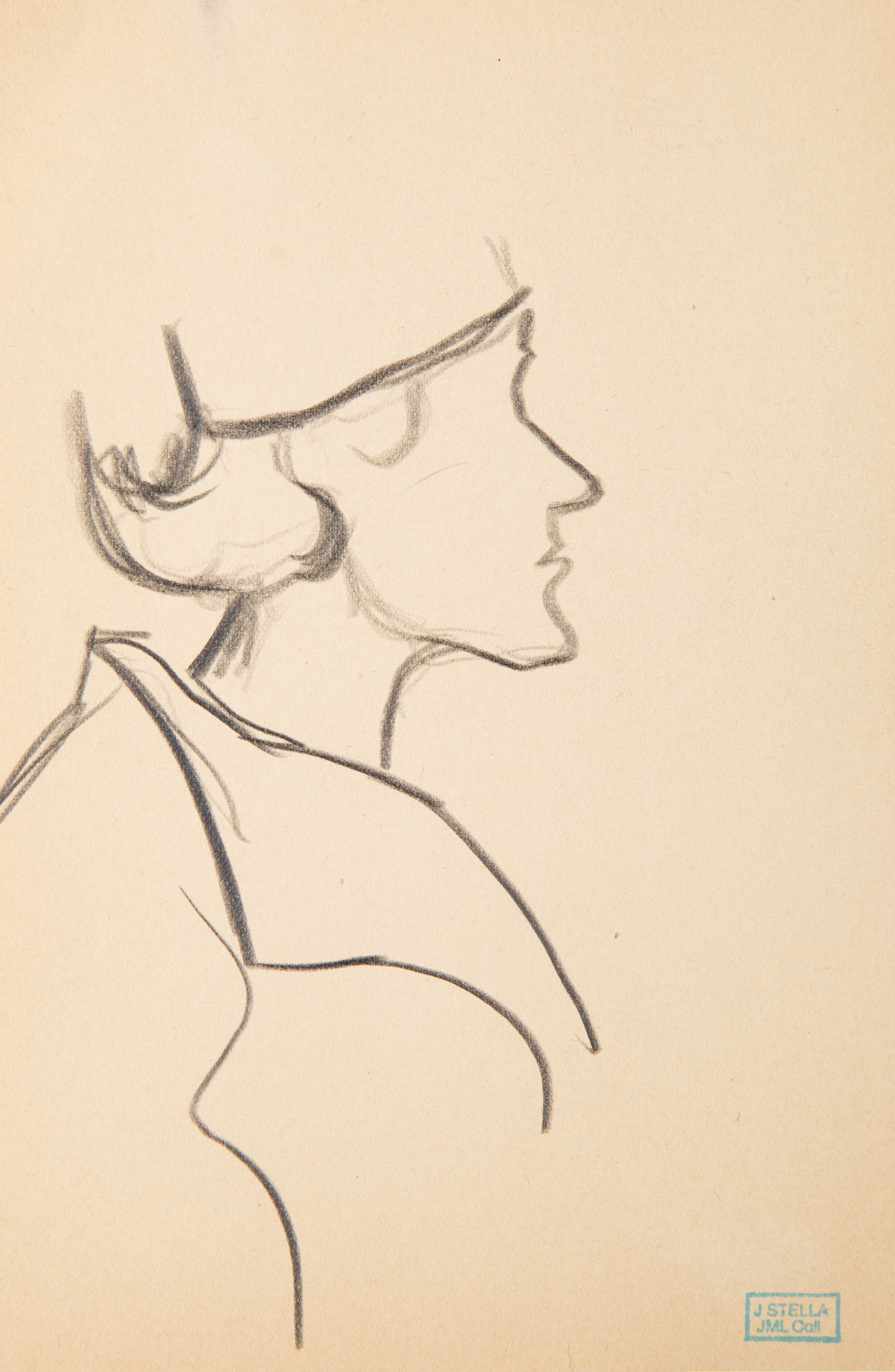 A GROUP OF FOUR DRAWINGS BY JOSEPH STELLA (AMERICAN 1877-1946) - Image 2 of 7