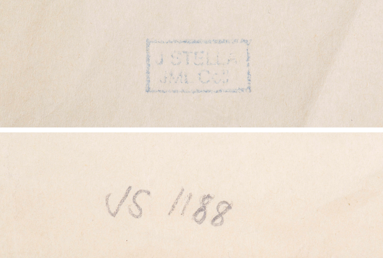 JOSEPH STELLA (AMERICAN 1877-1946) - Image 2 of 2