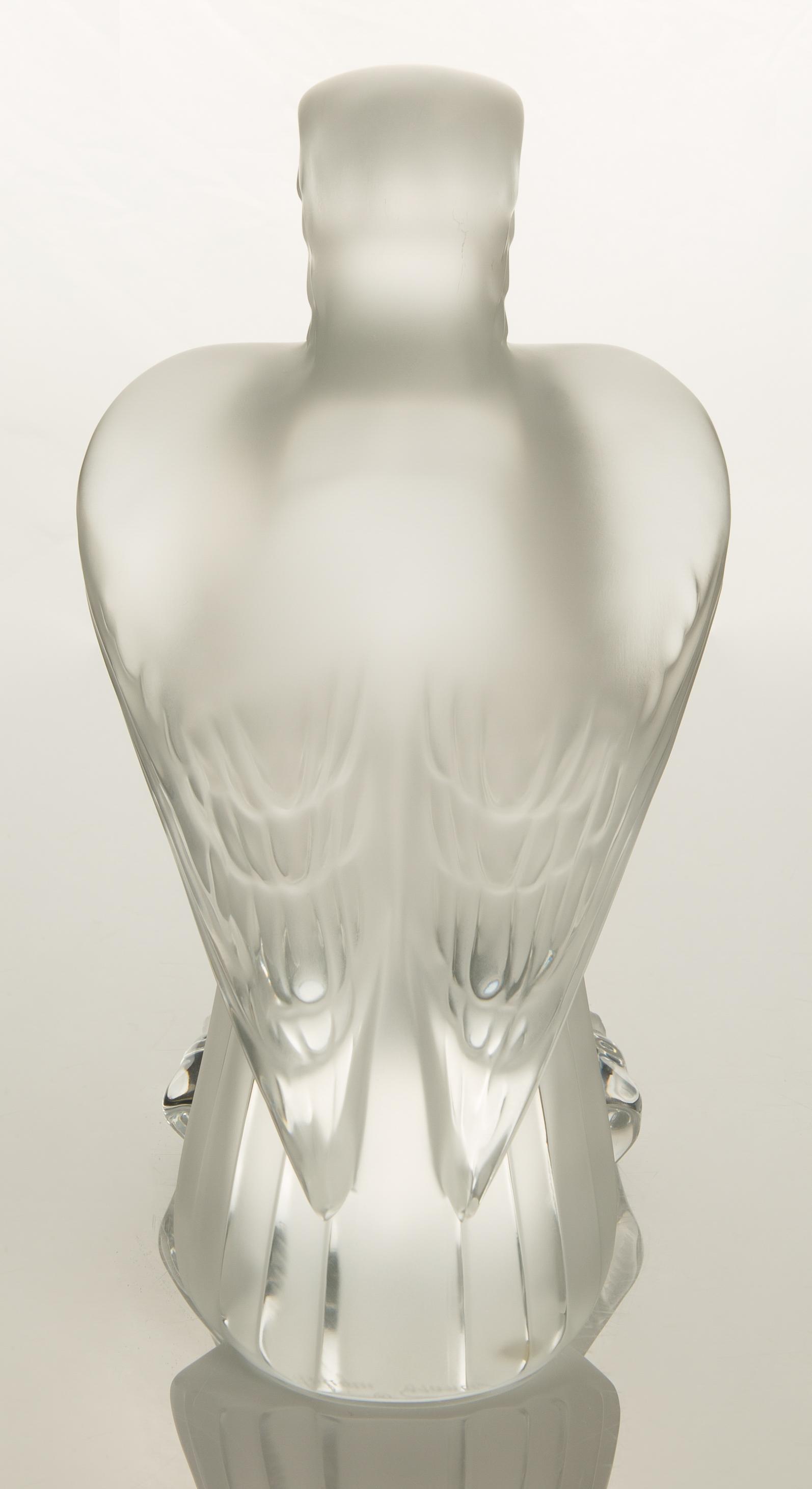 DESIGNED 1975 BY MARC LALIQUE LALIQUE 'LIBERTY' EAGLE - Image 2 of 3