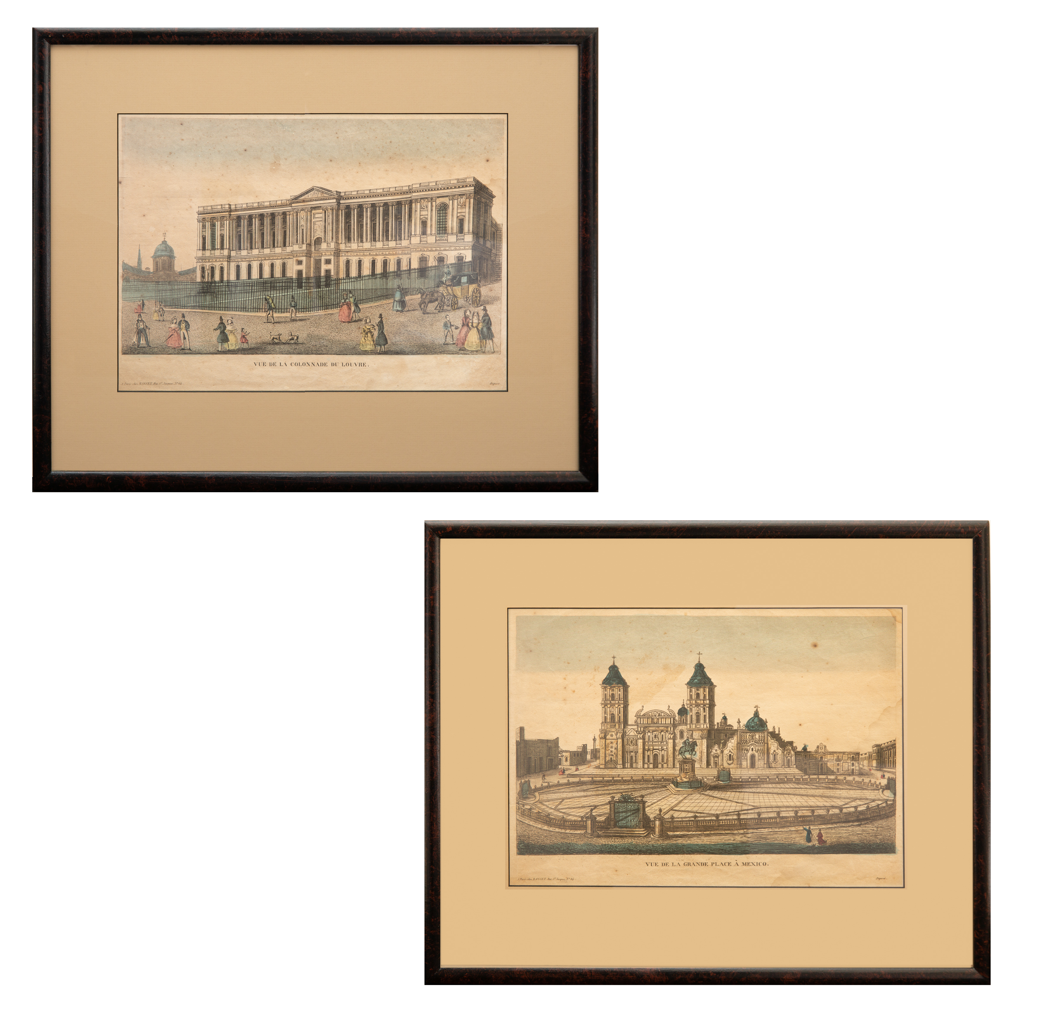 PAIR OF FRENCH ETCHINGS - Image 2 of 9
