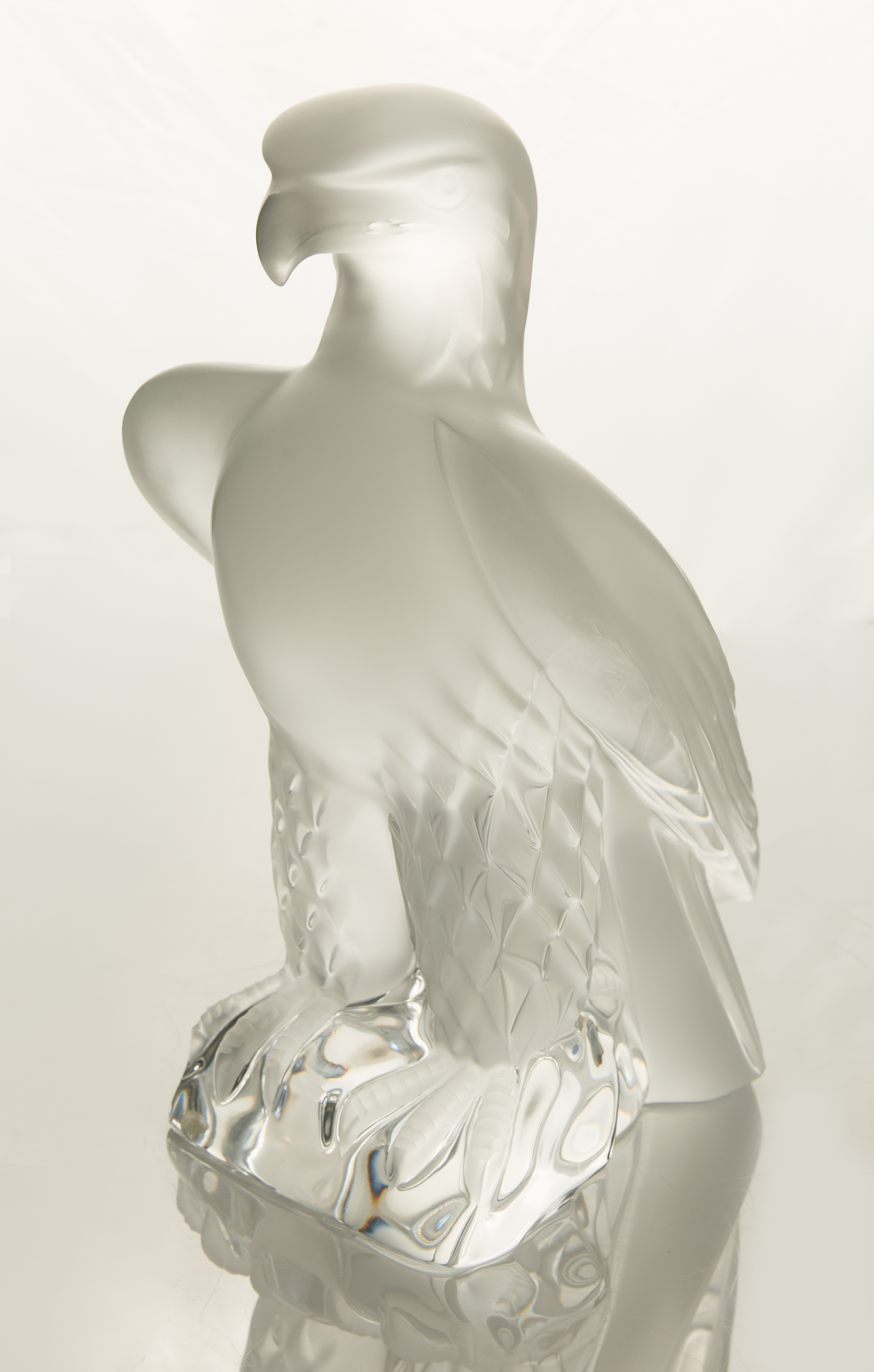 DESIGNED 1975 BY MARC LALIQUE LALIQUE 'LIBERTY' EAGLE