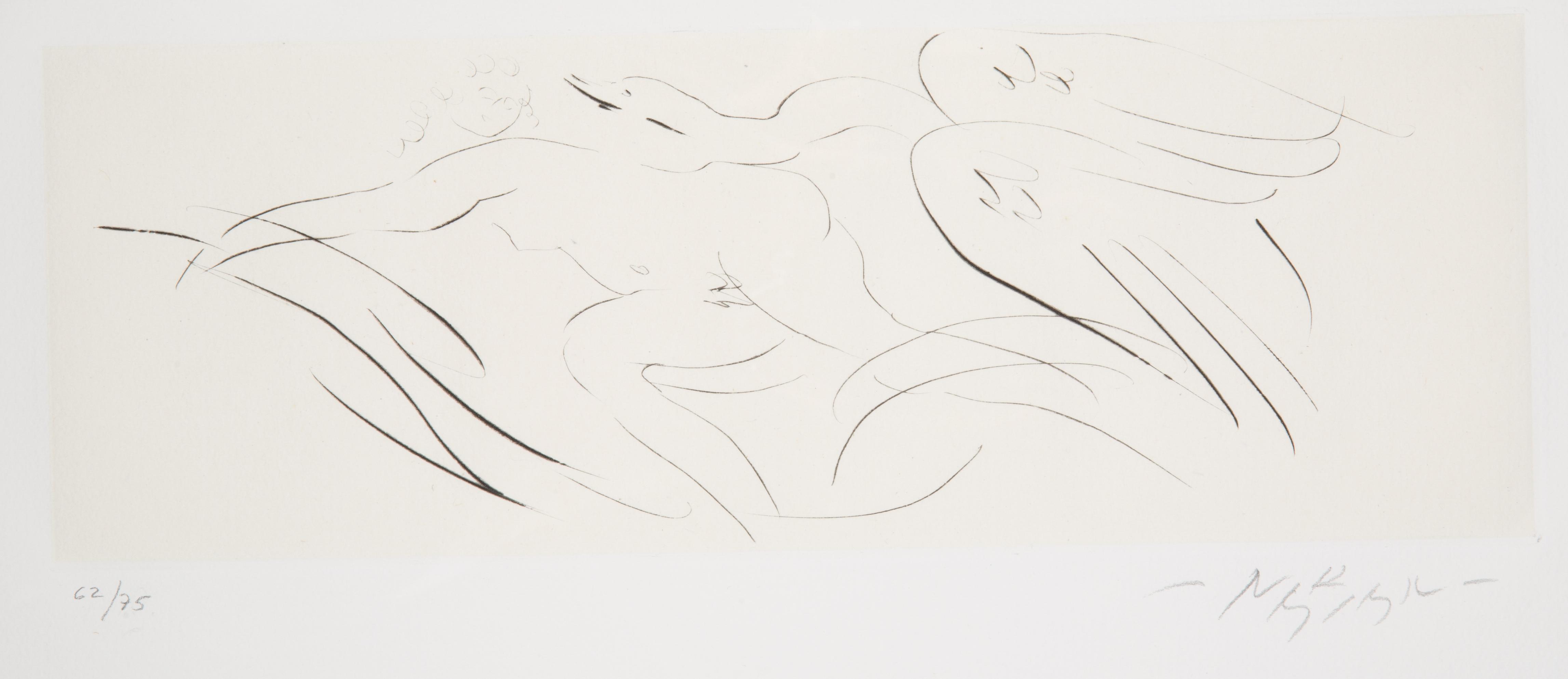 NINE ETCHINGS BY REUBEN NAKIAN (AMERICAN 1897-1986) - Image 2 of 18