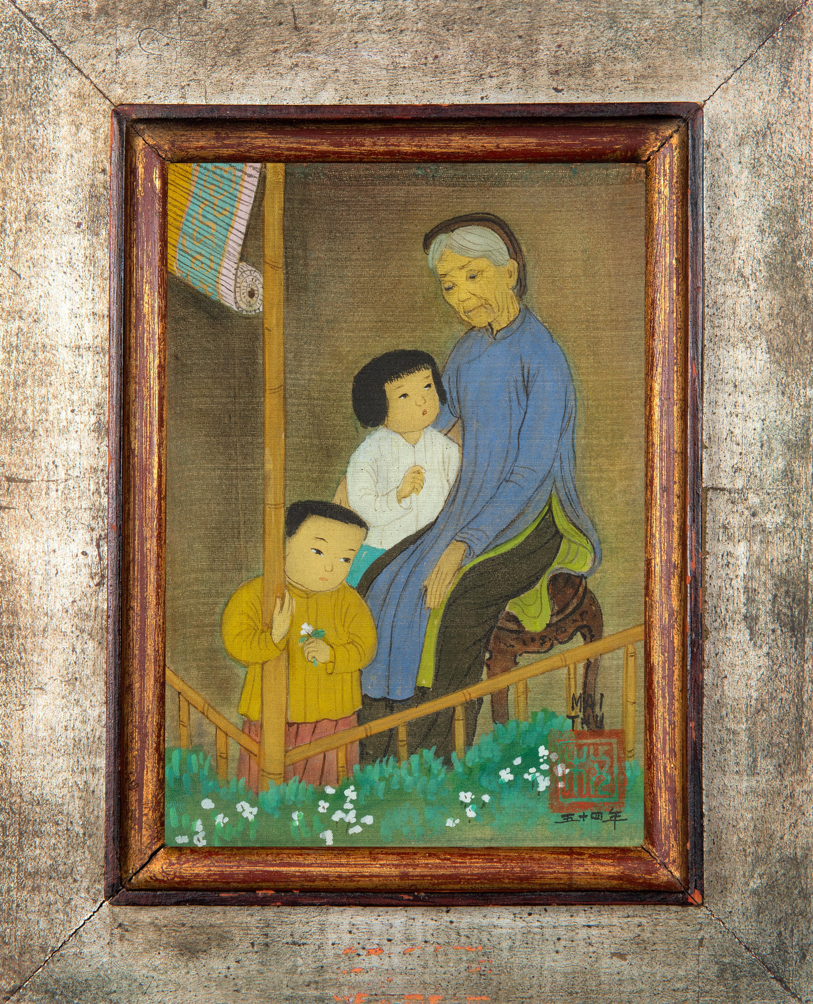 MAI TRUNG THU (VIETNAMESE-FRENCH 1906-1980) - Image 2 of 5