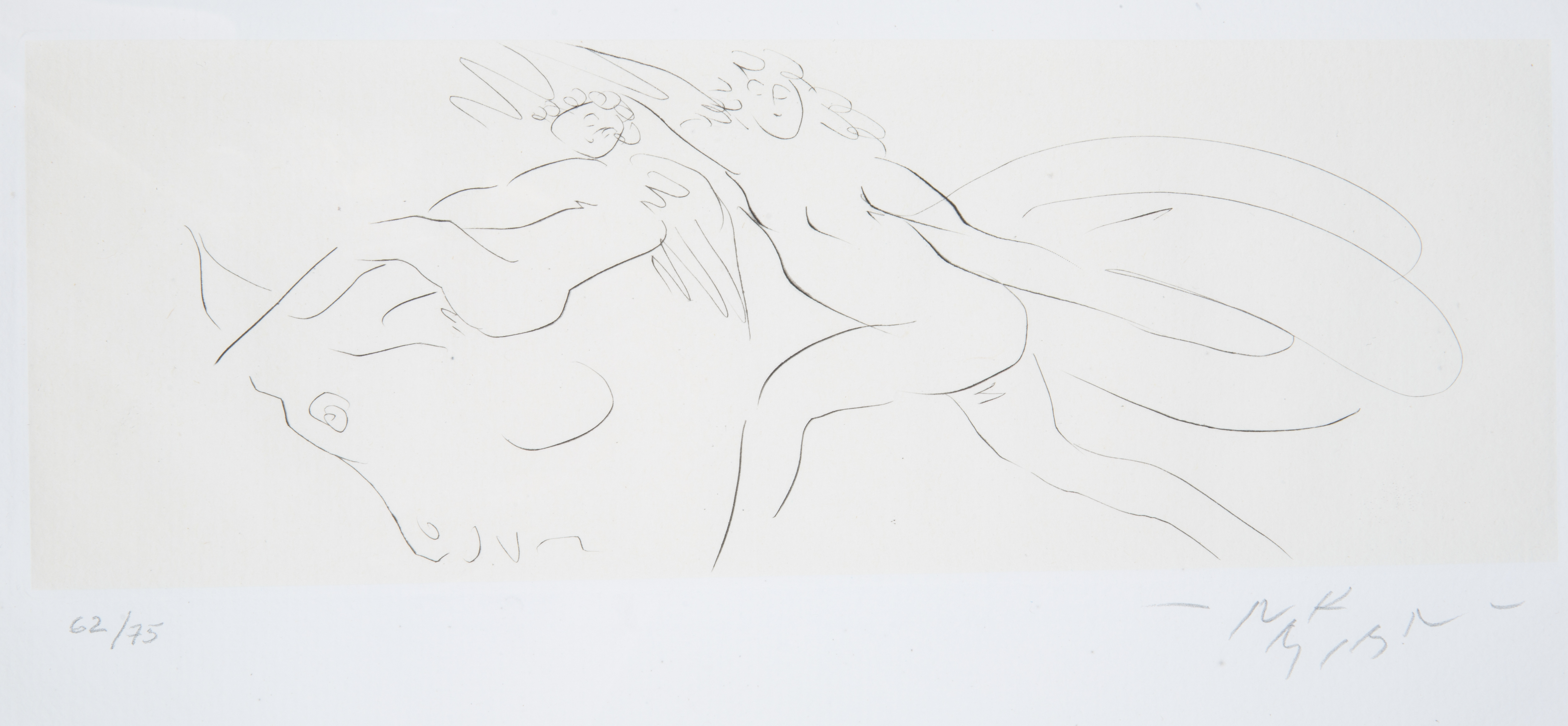 NINE ETCHINGS BY REUBEN NAKIAN (AMERICAN 1897-1986) - Image 8 of 18