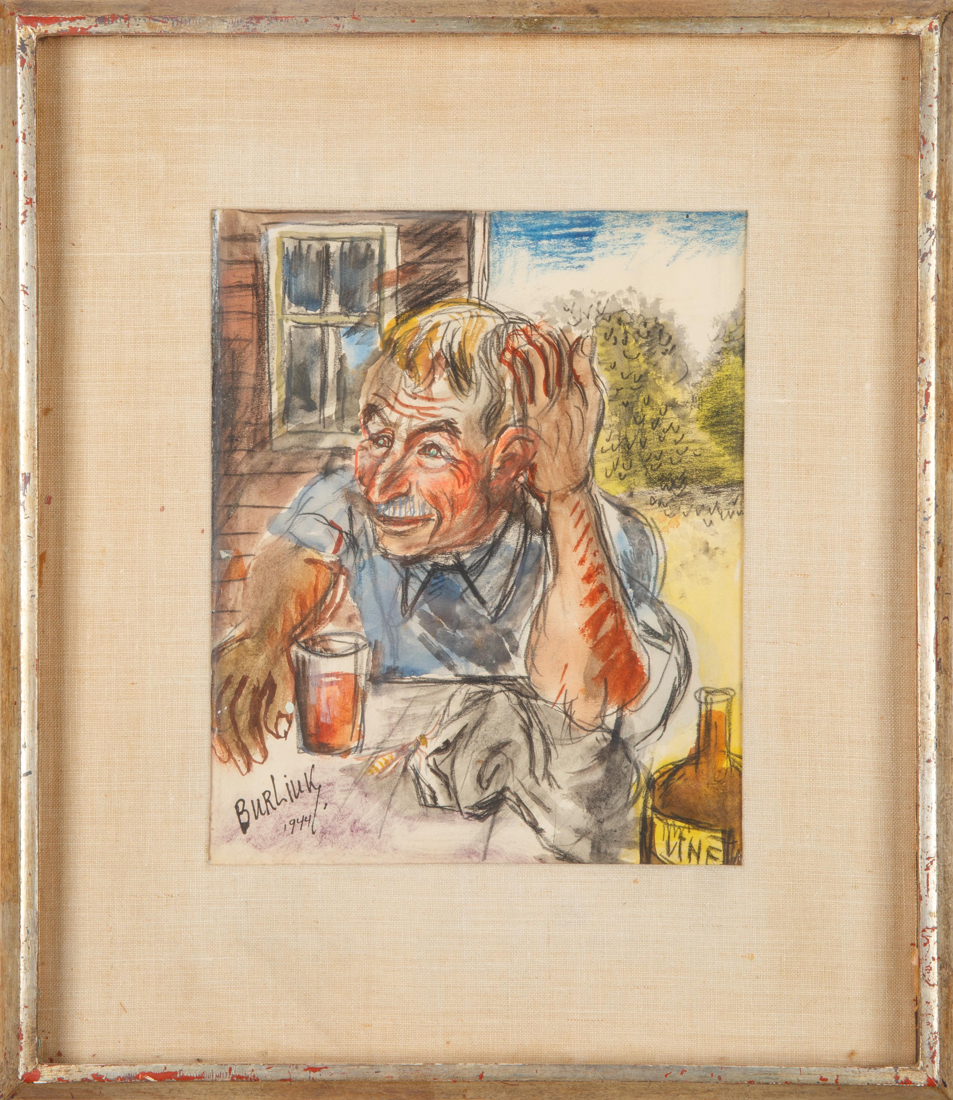 DAVID BURLIUK (RUSSIAN 1882-1967) - Image 2 of 5