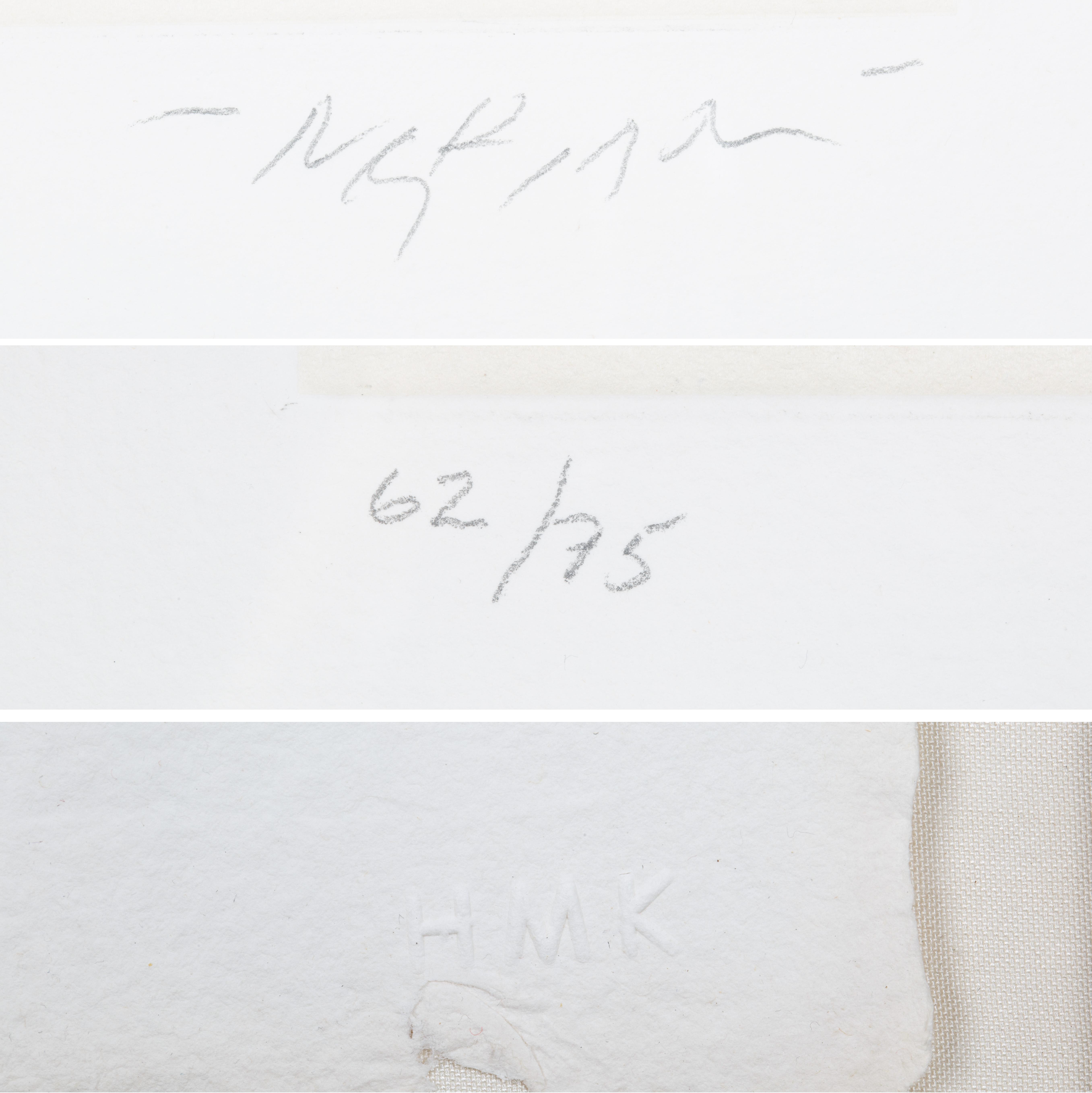 NINE ETCHINGS BY REUBEN NAKIAN (AMERICAN 1897-1986) - Image 7 of 18