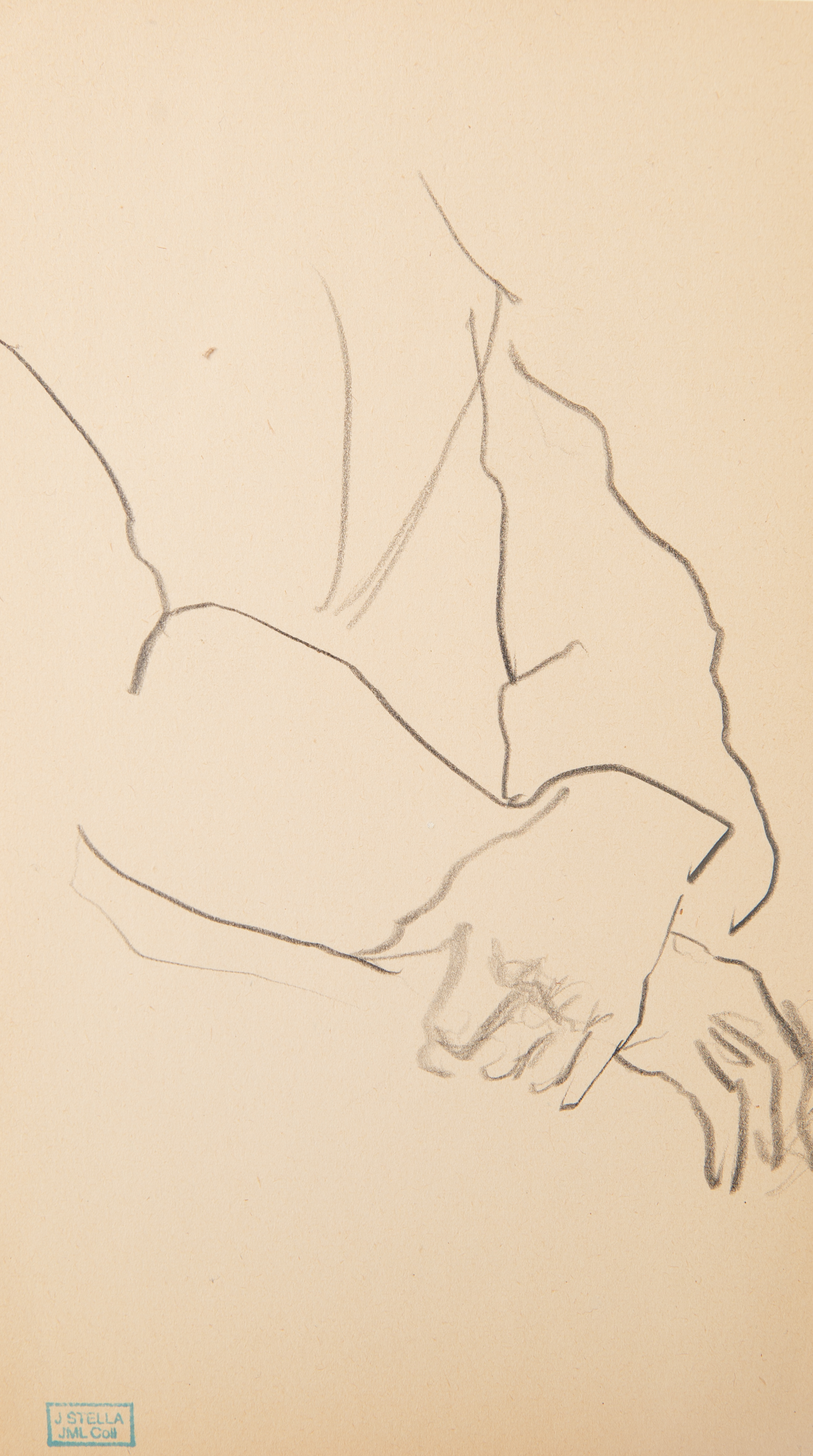 A GROUP OF FOUR DRAWINGS BY JOSEPH STELLA (AMERICAN 1877-1946) - Image 4 of 7