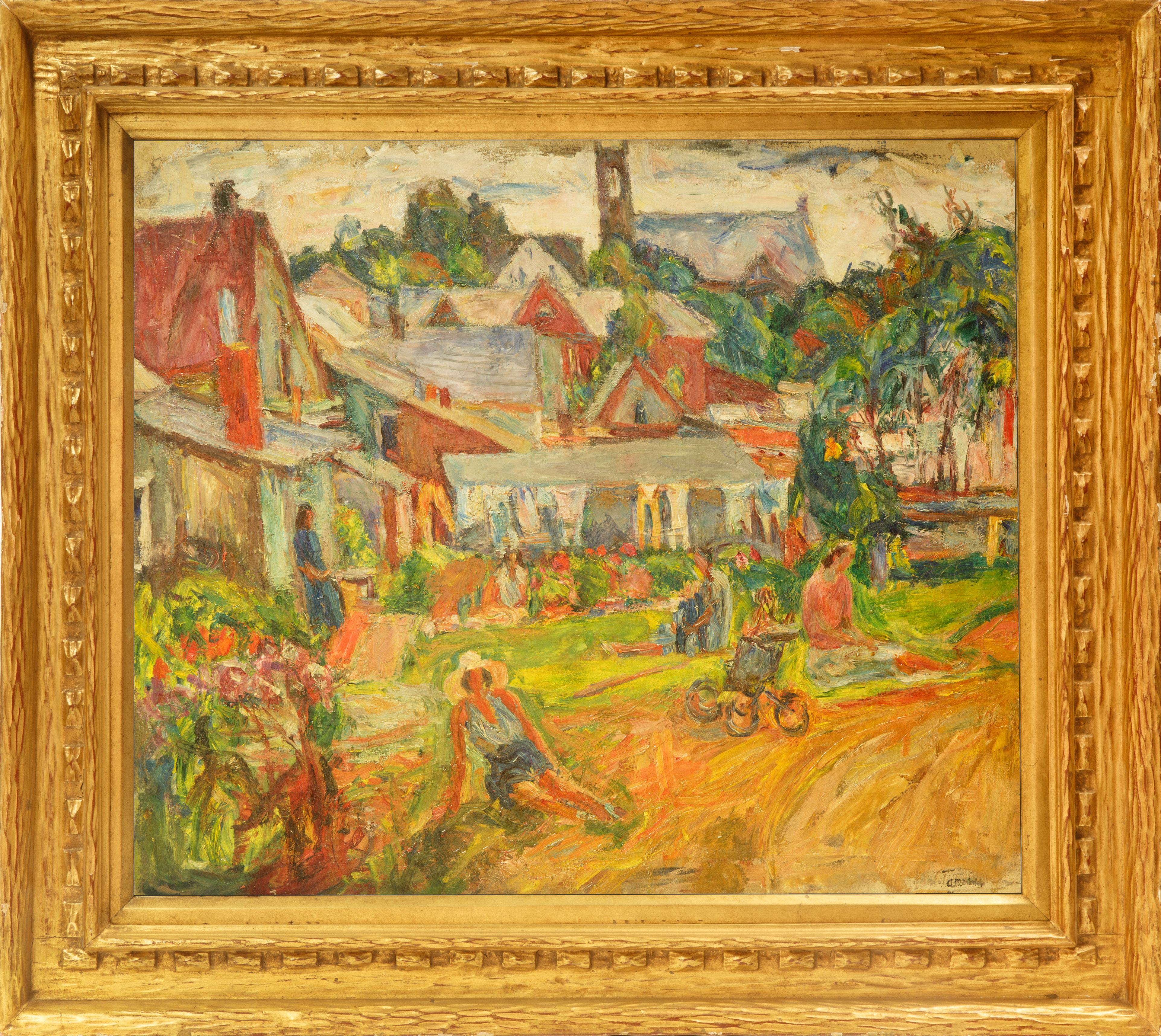 ABRAHAM MANIEVICH (UKRAINIAN 1883-1942) - Image 2 of 5
