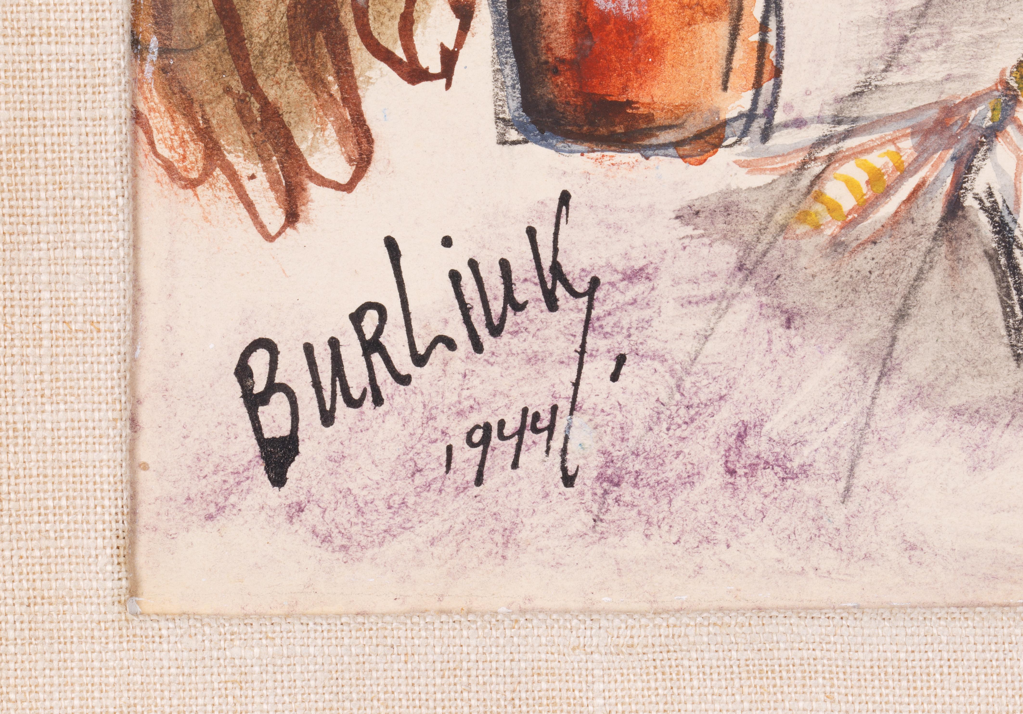 DAVID BURLIUK (RUSSIAN 1882-1967) - Image 3 of 5