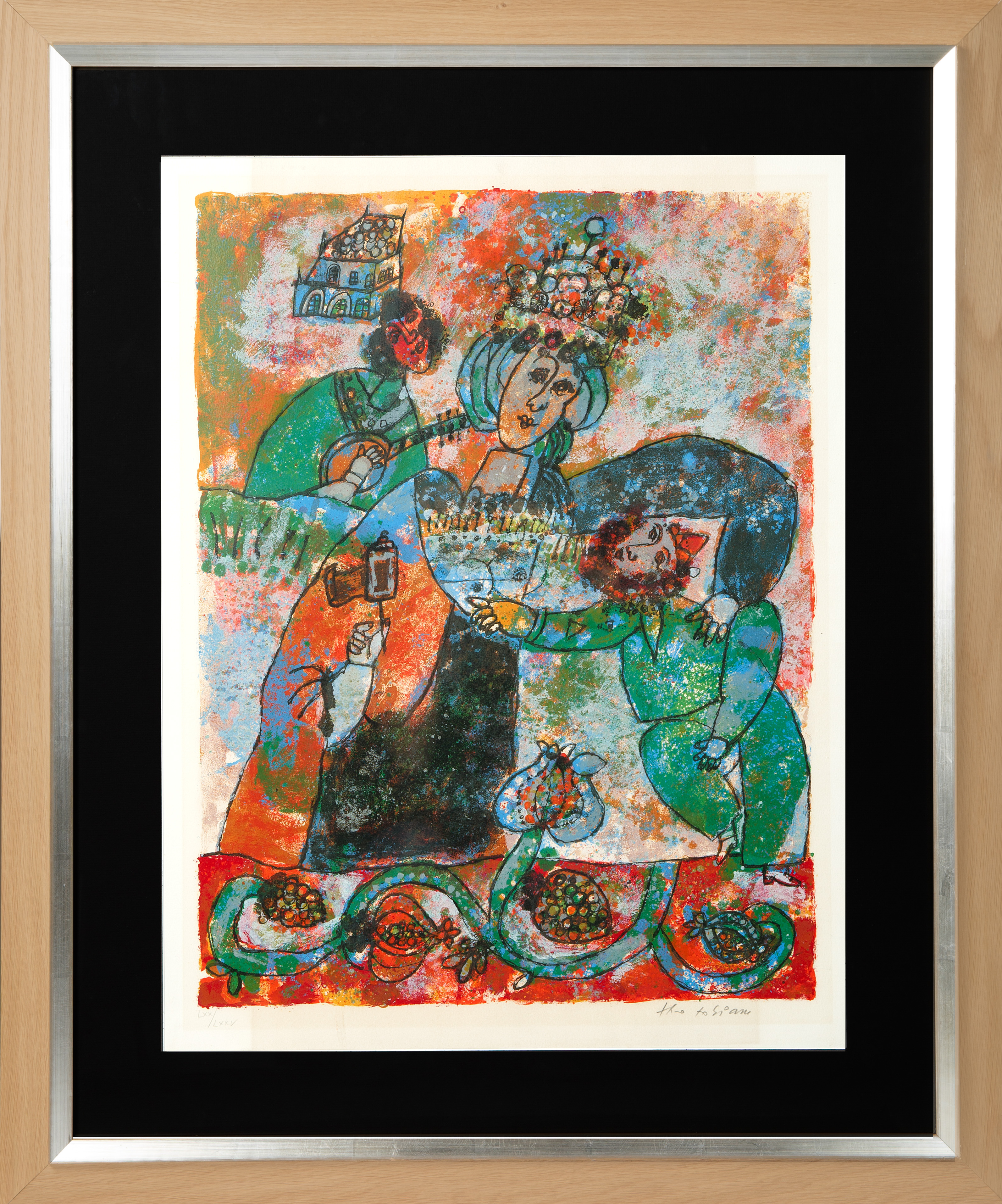 A PAIR OF LITHOGRAPHS BY THEO TOBIASSE (FRENCH 1927-2012) - Image 3 of 7