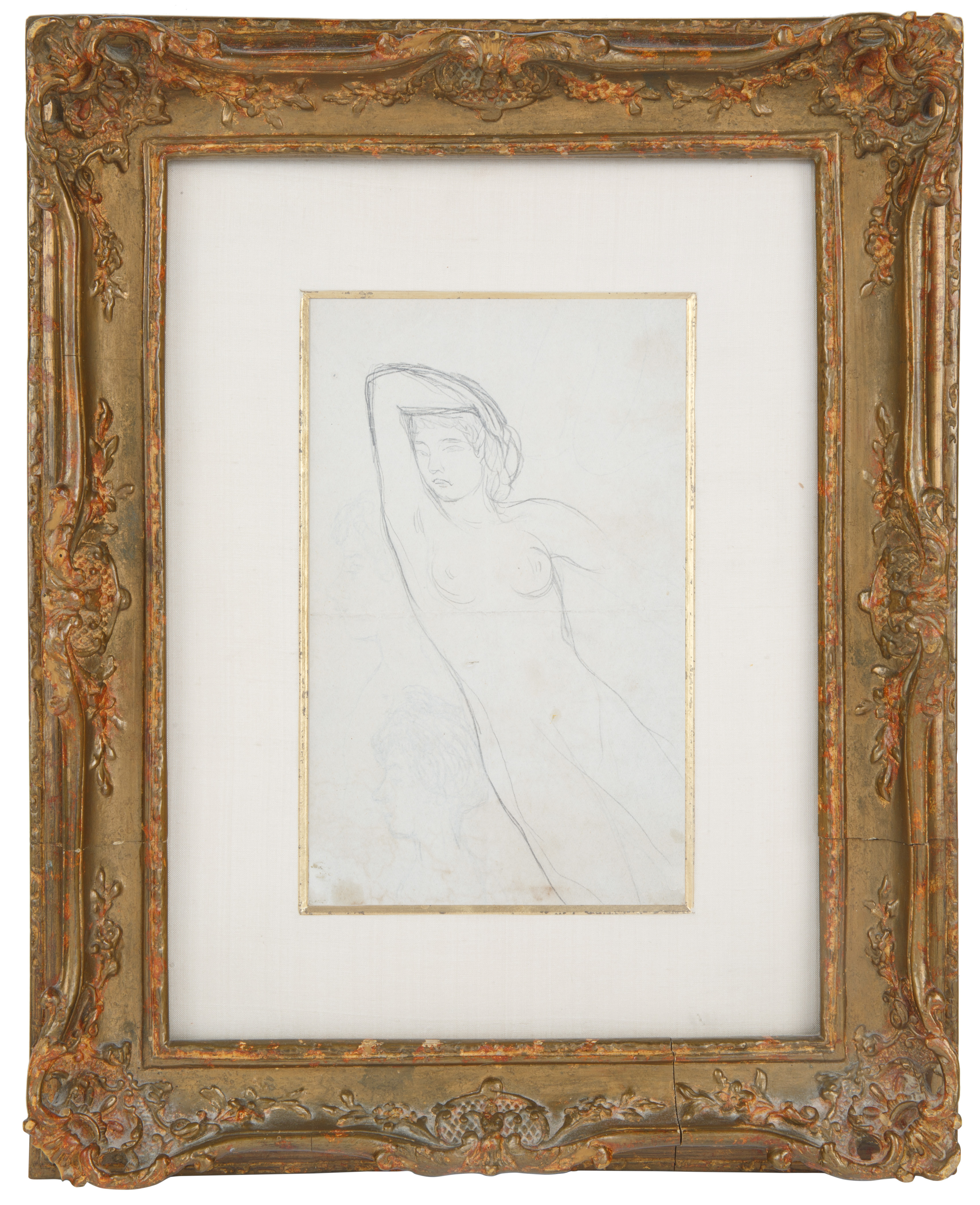 A DOUBLE-SIDED NUDE BY PIERRE BONNARD (FRENCH 1867-1947) - Image 3 of 6