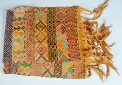 BHUTANESE EMBROIDERED WALL HANGING