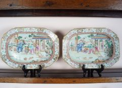 PR. OF 18TH-CENTURY CHINESE FAMILLE ROSE PLATTERS