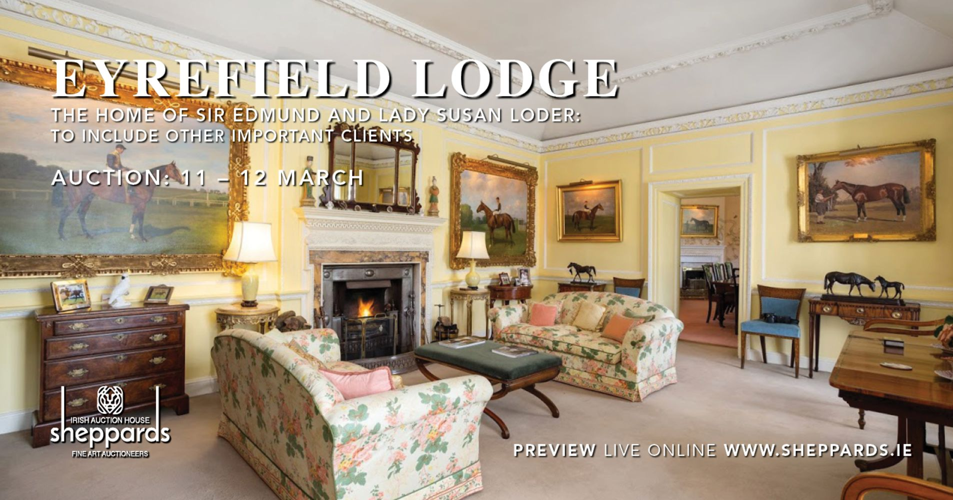 EYREFIELD LODGE | THE HOME OF SIR EDMUND AND LADY SUSAN LODER