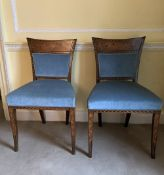 PAIR OF 18TH-CENTURY DUTCH MARQUETRY CHAIRS