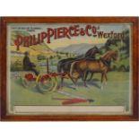 PHILIP PIERCE & CO. WEXFORD ORIGINAL VINTAGE POSTER