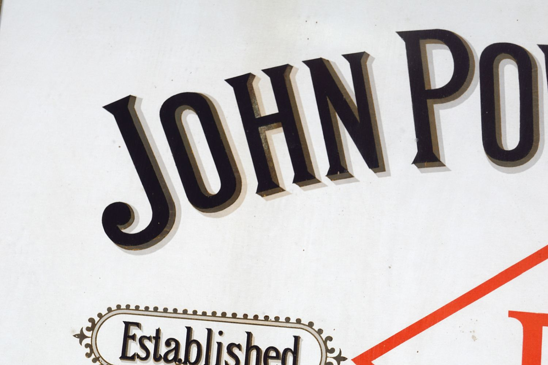 JOHN POWER & SON WHISKEY ORIGINAL POSTER - Image 5 of 5