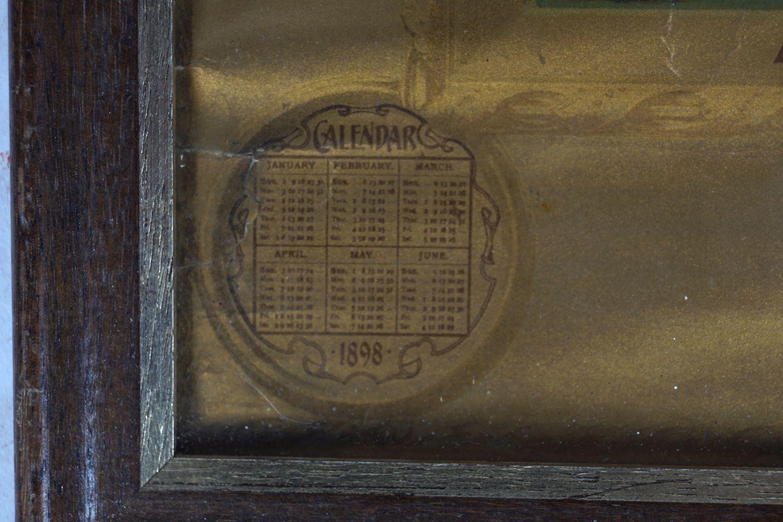 DELICIOUS MAZAWATTEE TEA CALENDAR 1898 - Image 4 of 8