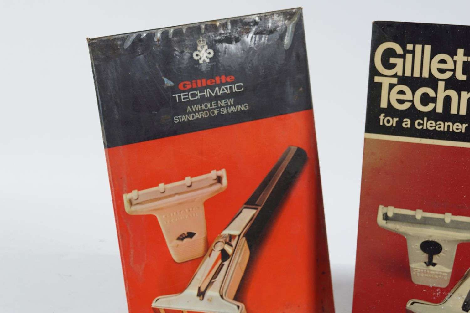 GILLETTE TECHMATIC SELF- STANDING SIGN - Image 3 of 6